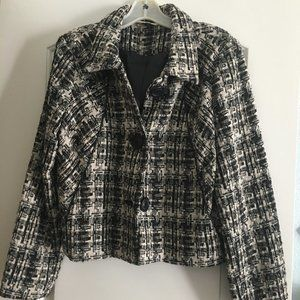 Black and White CAbi jacket Style 630